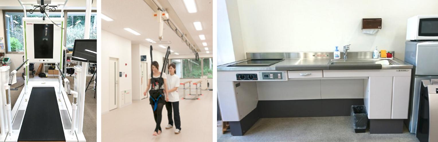 冨田病院 リハビリテーション室
