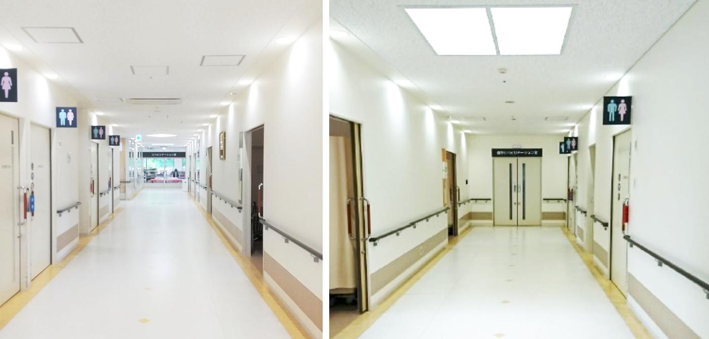 冨田病院 病棟廊下